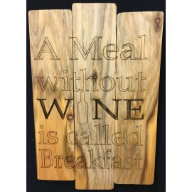 Hanging Rustic Pallet Sign